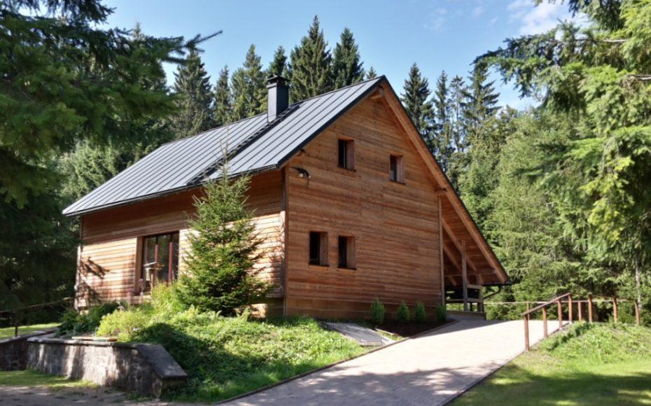 Blockhütte Grünbach