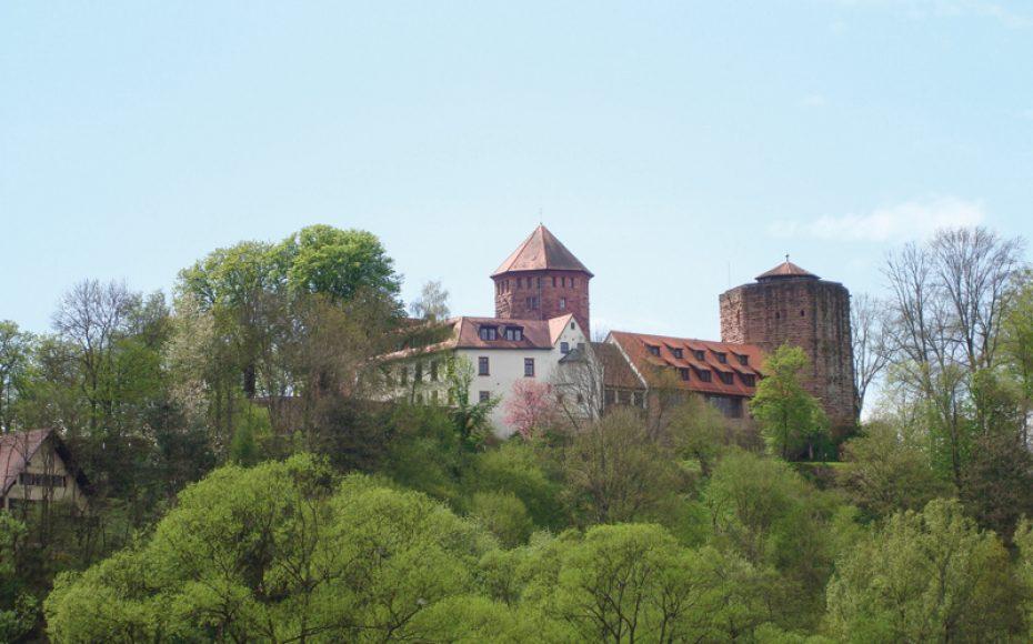 Burg Rieneck hoch über dem Sinntal
