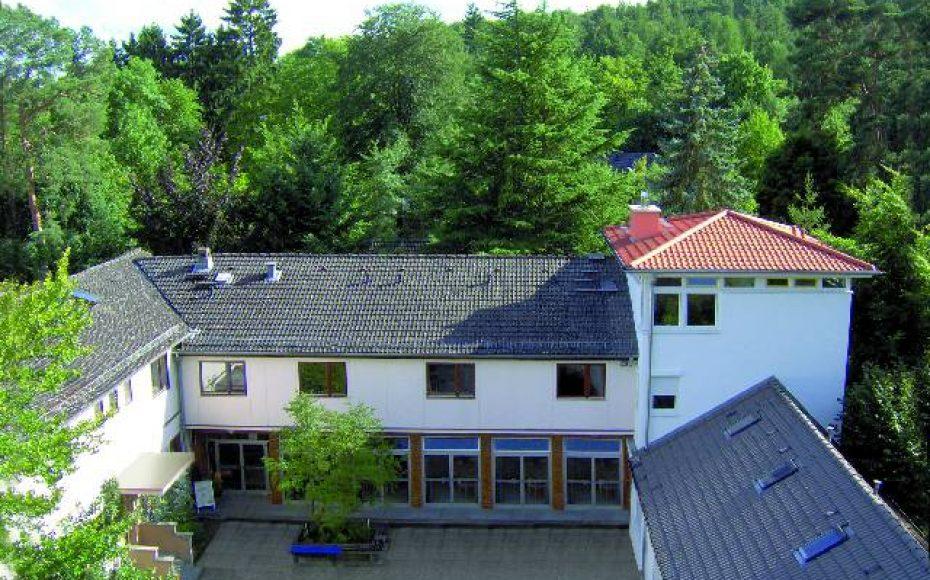 Haus Heliand, mitten im Grünen
