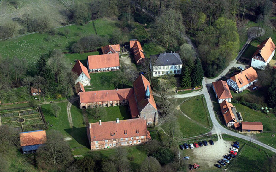 Klosteranlage von Oben
