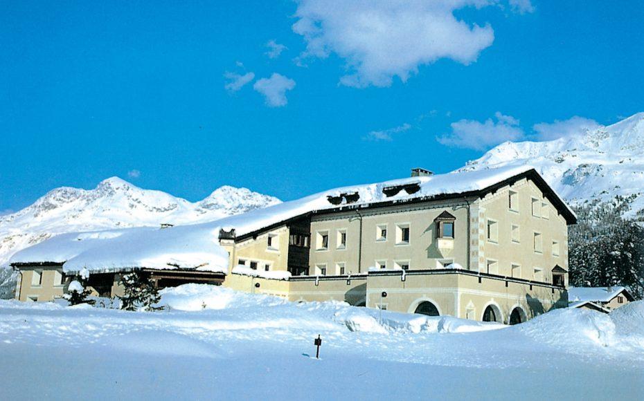 Silserhof im Winter