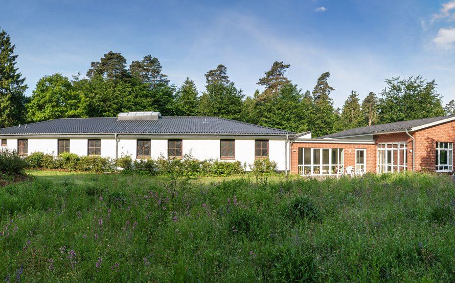 Tannenhof Mölln mit Blick auf Haus Lübeck